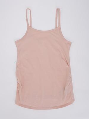 Майка для беременных персикового цвета | 5752062