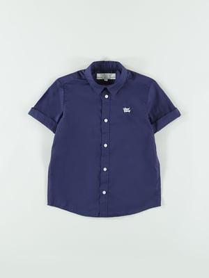 Рубашка темно-синяя   5752365