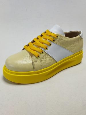 Кросівки жовті | 5752745