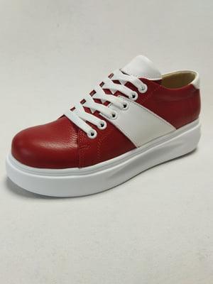 Кросівки червоні | 5752746