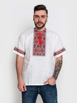 Вышиванка белая с вышивкой-орнаментом   5752758