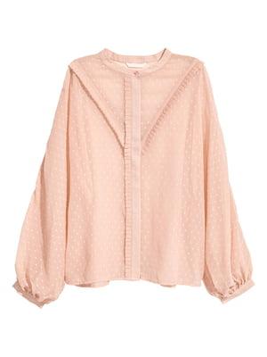 Блуза светло-бежевая | 5754829