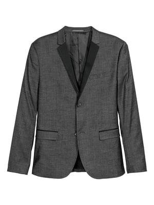 Пиджак темно-серый | 5754851