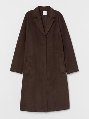 Пальто темно-коричневое   5754941