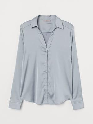 Блуза серо-голубая | 5754963