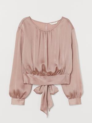 Блуза пудрового цвета | 5755123