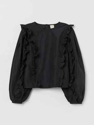 Блуза черная | 5755181