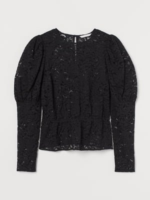Блуза черная | 5755441