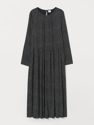 Платье черное в горошек | 5755469