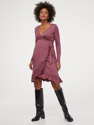 Платье темно-розовое | 5755531