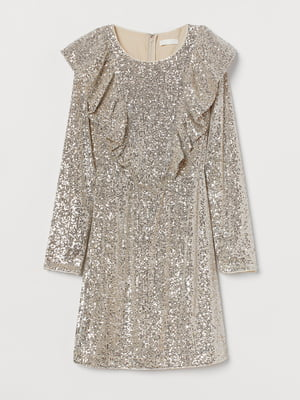 Платье светло-бежевое | 5755537