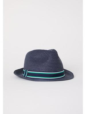Шляпа синяя   5755801