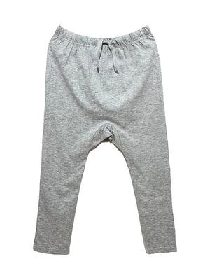Брюки пижамные серые   5755876