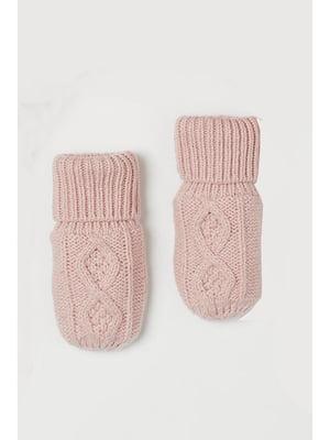 Рукавиці рожеві | 5756090