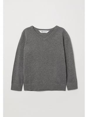 Пуловер серый | 5756501