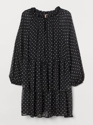 Платье черное в горошек   5756256