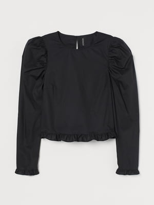Блуза черная   5756283