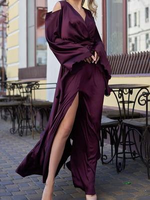 Платье цвета марсала | 5711659