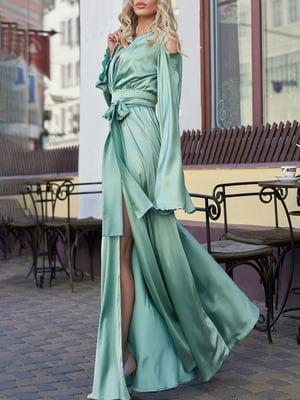 Платье бирюзовое | 5711661