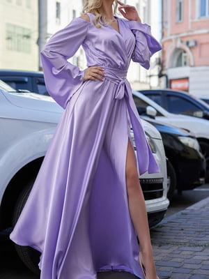 Платье сиреневое | 5711660