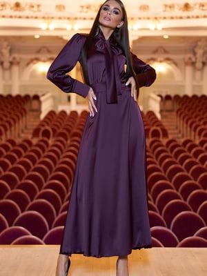 Платье цвета марсала | 5711671