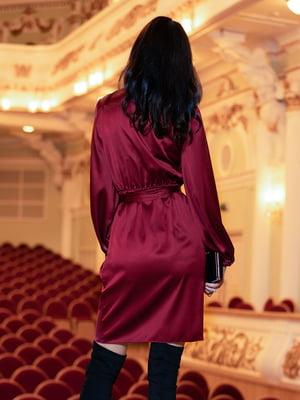 Платье винного цвета | 5711673