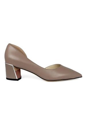 Туфлі кольору кави | 5465352