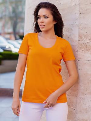Футболка оранжевая | 5757535