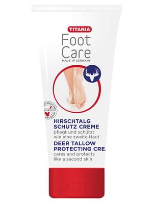 Защитный крем для ступней ног с оленьим жиром, 100мл   3434586