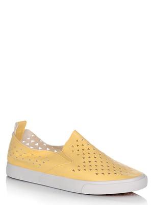Слипоны желтые   5759919