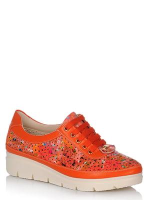 Туфлі помаранчеві   5759934