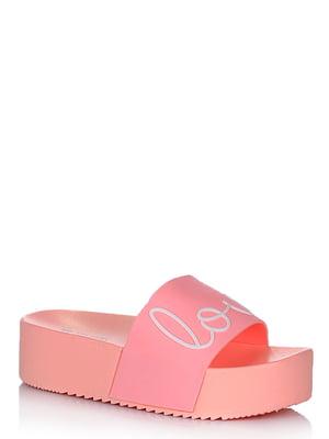 Шлепанцы розовые   5759972