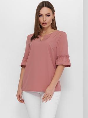 Блуза цвета фрезии   5735355