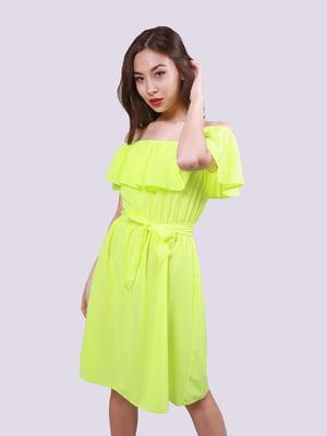 Платье салатового цвета | 5760170
