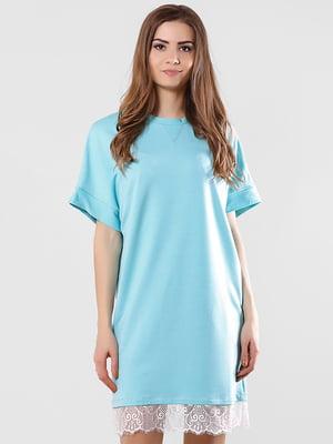 Платье бирюзовое | 5760171