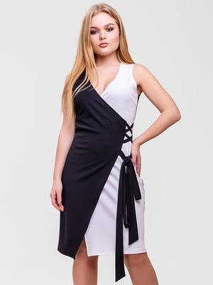 Платье черно-белое | 5760173