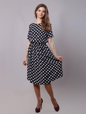 Платье черное в горох | 5760185