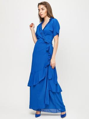 Платье синее | 5760189
