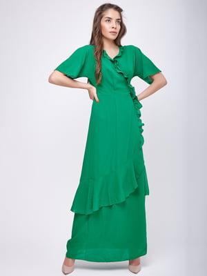 Платье зеленое | 5760190