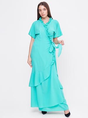 Платье бирюзовое | 5760191