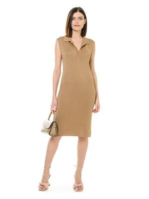 Платье бежевое | 5760156