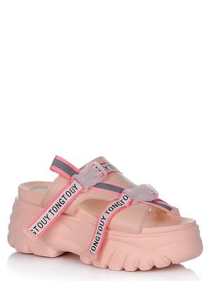 Босоніжки рожеві | 5759965
