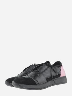 Кросівки чорні з принтом | 5757783
