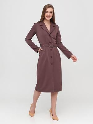 Сукня темно-фіолетова | 5760287