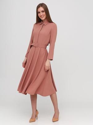 Сукня кольору пудри   5760288