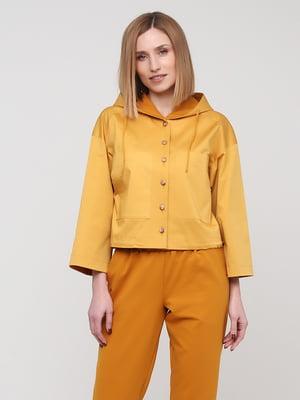 Жакет желтый | 5760356
