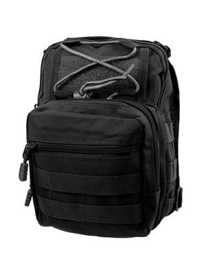 Сумка-рюкзак чорна | 5745971