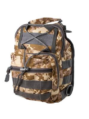 Сумка-рюкзак в камуфляжний принт | 5745974