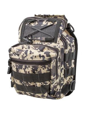 Сумка-рюкзак в камуфляжний принт | 5745975