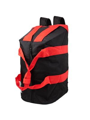 Рюкзак спортивний чорний | 5746753